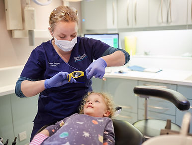 Hannah Pepper is a caring dentist who has a reputation for kind and caring dental treatment without anxiety.