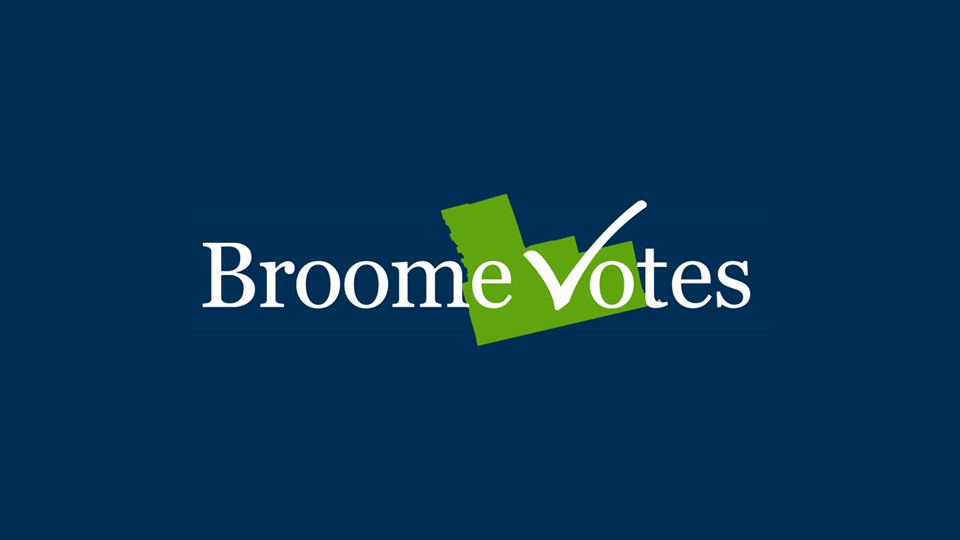 Broome Votes Logo