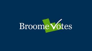 Broome Votes Logo
