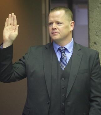 Daniel J Reynolds Sworn-in and re-elected Legislature Chairman