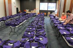 Purple Ballot Bags