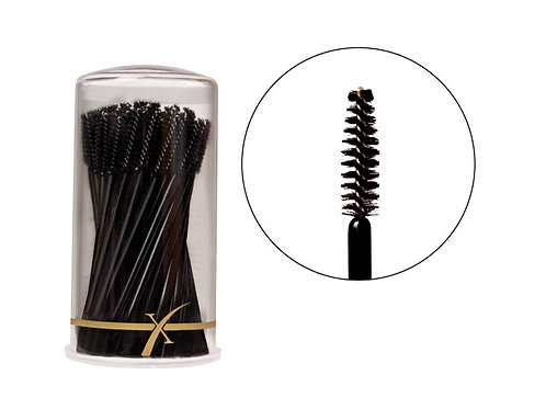 Disposable Mascara Brushes In Tube (pack of 50)