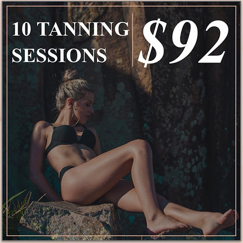 10 TANNING SESSIONS
