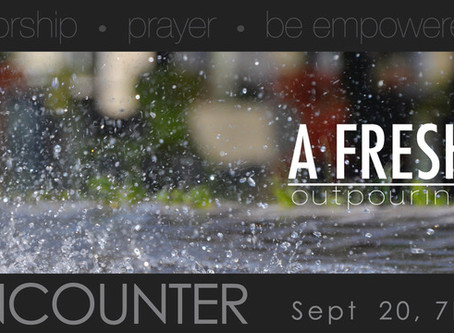 Encounter Service September 20, 2020 @7pm