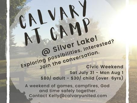 Calvary At Camp 2021
