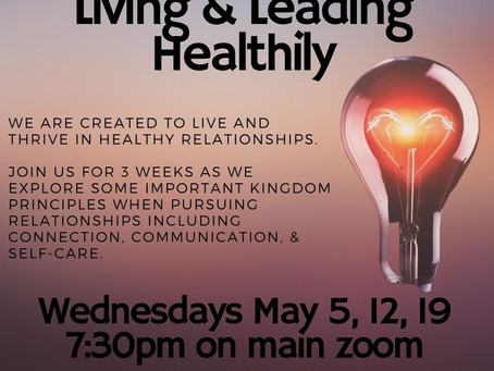Living & Leading Healthily