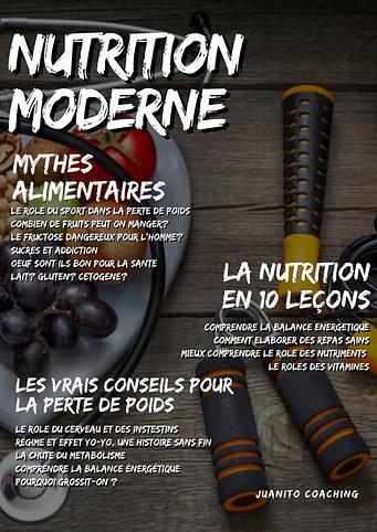 LA NUTRITION MODERNE (Livre Numérique)
