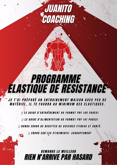 PROGRAMMES MAISON ÉLASTIQUE 6 SEANCES