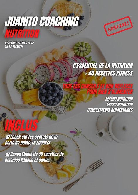 L'ESSENTIEL DE LA NUTRITION + 40 RECETTES FITNESS