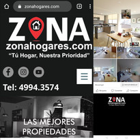Diseño Web: zonahogares.com