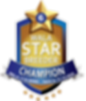 Sunrise Australian Champion Star Logo.pn