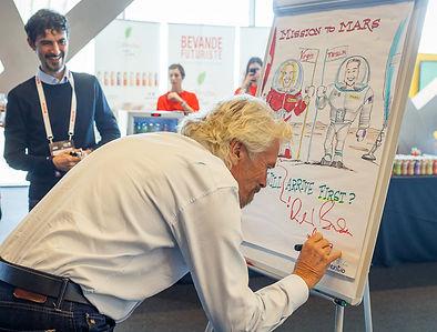 Sir Richard Branson about future challenges in workteam