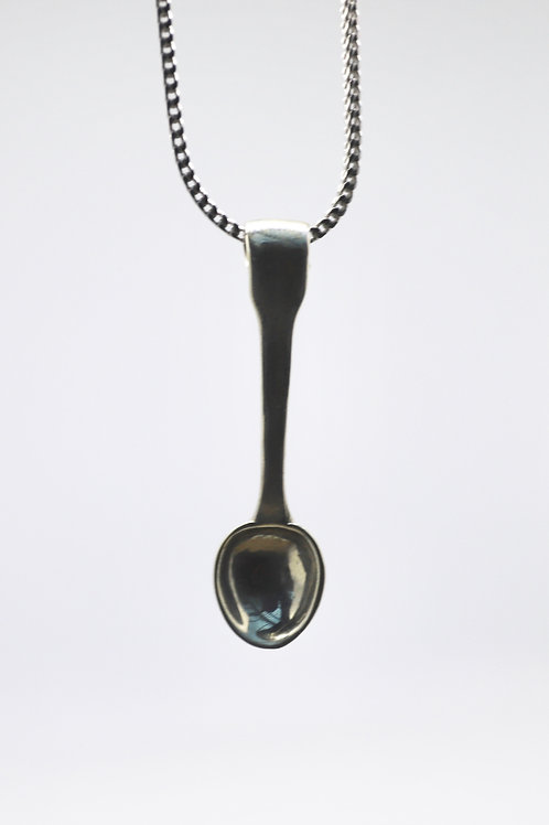 Espresso Spoon Necklace
