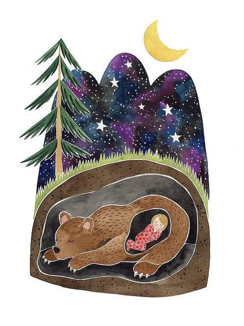 Fairytale Bear 8x10 Print