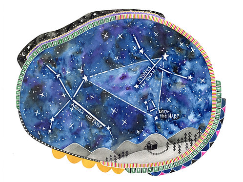 Constellation 8x10 Print