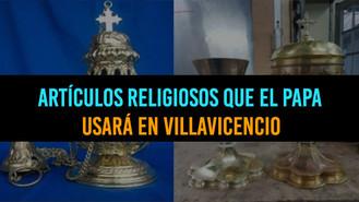 Piezas Religiosas Que Usará El Papa