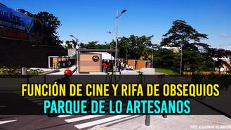 Cine y Rifas, actividades para los Villavicences.