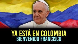 El Papa acaba de pisar territorio colombiano