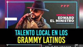 """Edward """"El Ministro"""" estará presente en los Grammy"""