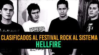 Entrevista a Hellfire, bandas seleccionadas para Rock Al Sistema