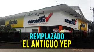 Comenzó el funcionamiento de SurtiMayorista en donde antes era el almacén YEP