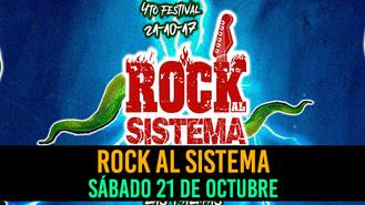 El sábado 21 de octubre se llevará a cabo la cuarta edición del festival Rock Al Sistema