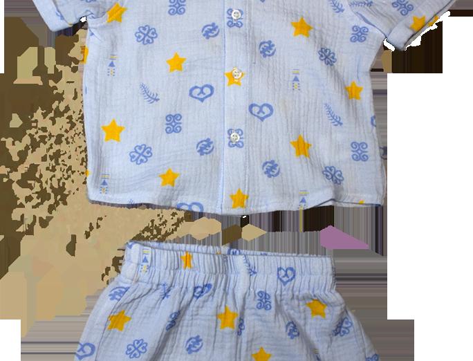 Organic Cotton Shorts Suit