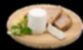 Il Tommasino, formaggio fresco tipo robiola dell'azienda agricola La Capreria di Montegalda (VI)