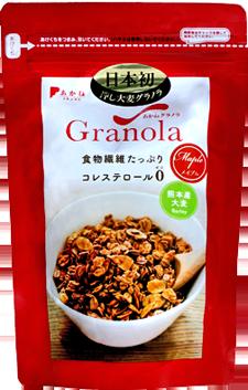 あかねグラノラ大麦メイプル商品画像