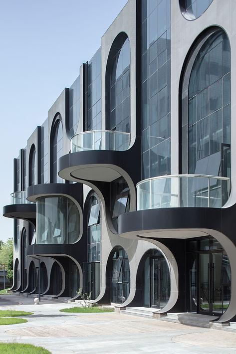 05_FFP Courtyard B_Facade and Balcony_Xi