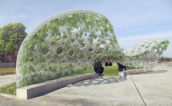 antistatics architecture canopy structure