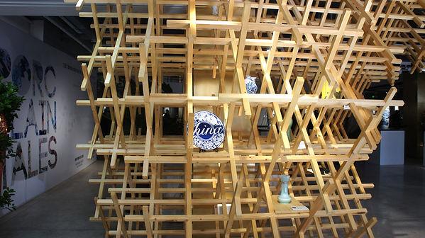 antistatics architecture wood structure