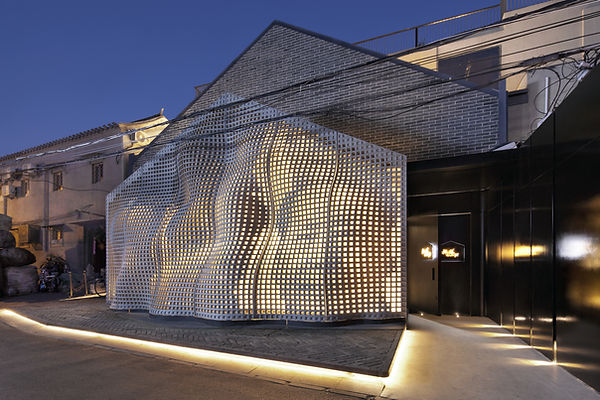 AntiStatics Architecture MaoHaus Facade