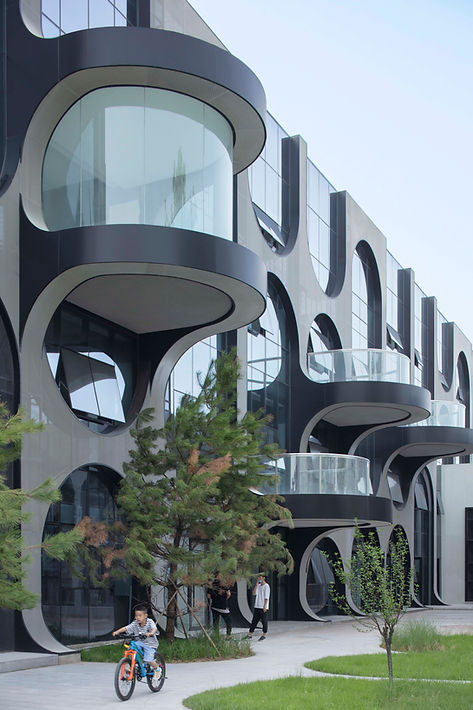 04_FFP Courtyard B_Facade and Balcony_Xi