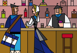 Au bar, 4eme version