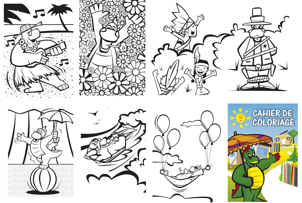 Cahier de coloriage Mumphrey