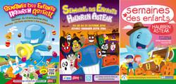 Visuels pour la Semaine des Enfants