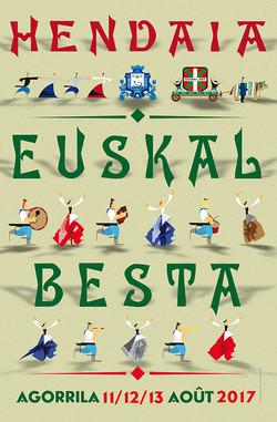Affiche Fête Basque 2017