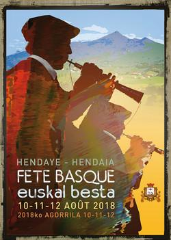 affiche Fête basque 2018