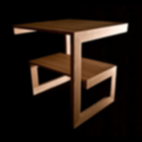 "Side table ""G"", ash"
