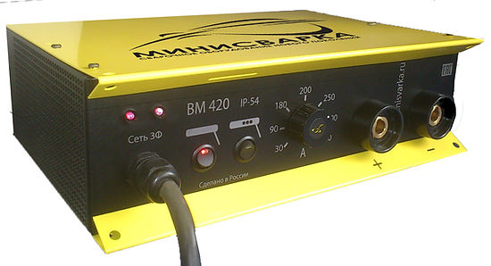 МИНИСВАРКА ВМ420 ip-54