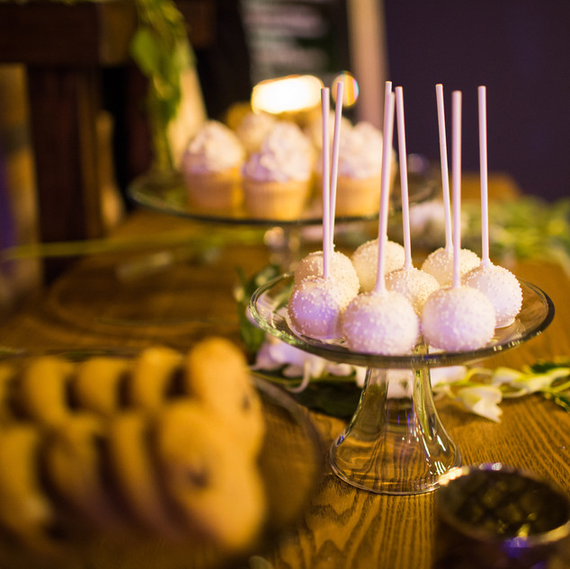 Wedding Cookies, Cupcakes, and Cake Pops