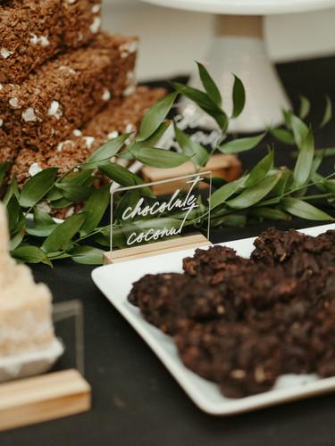 Dessert Bar spread for a Seattle Wedding!