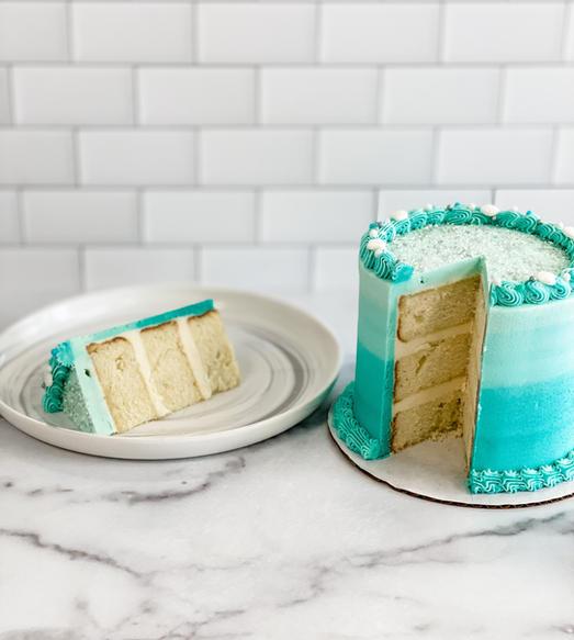 Cake Slice + Cake
