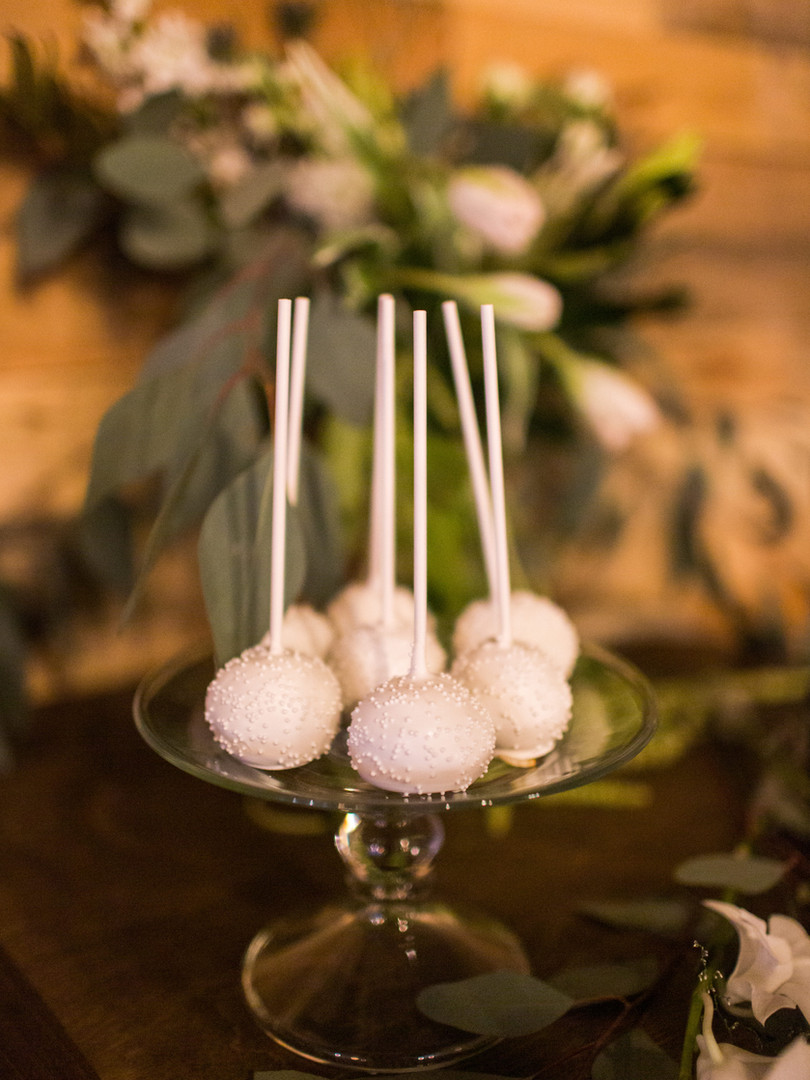 Wedding Vanilla Cake Pops