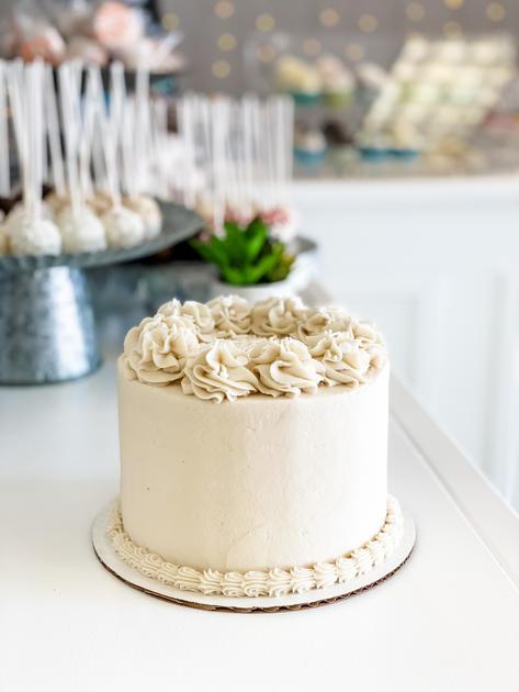 Vanilla + Vanilla Cake