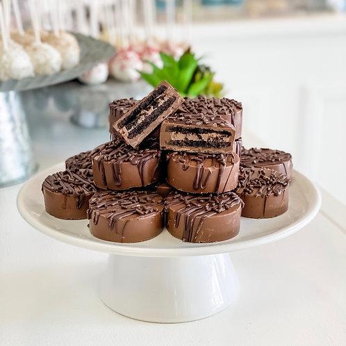 Triple Chocolate Oreos