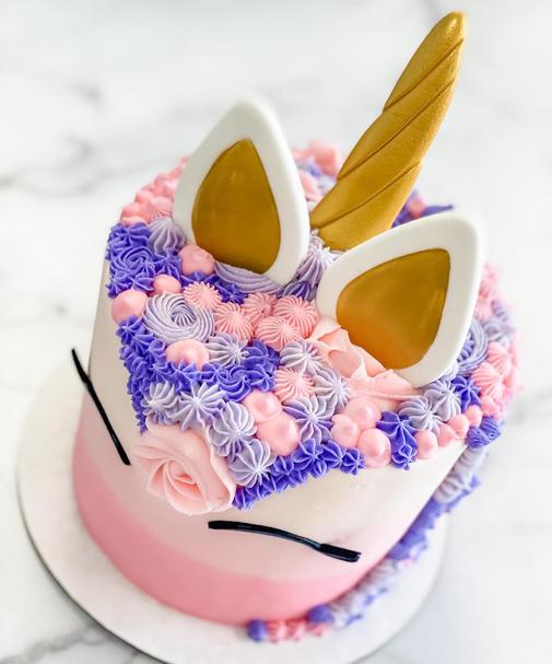 Unicorn Cake - Pink Ombre