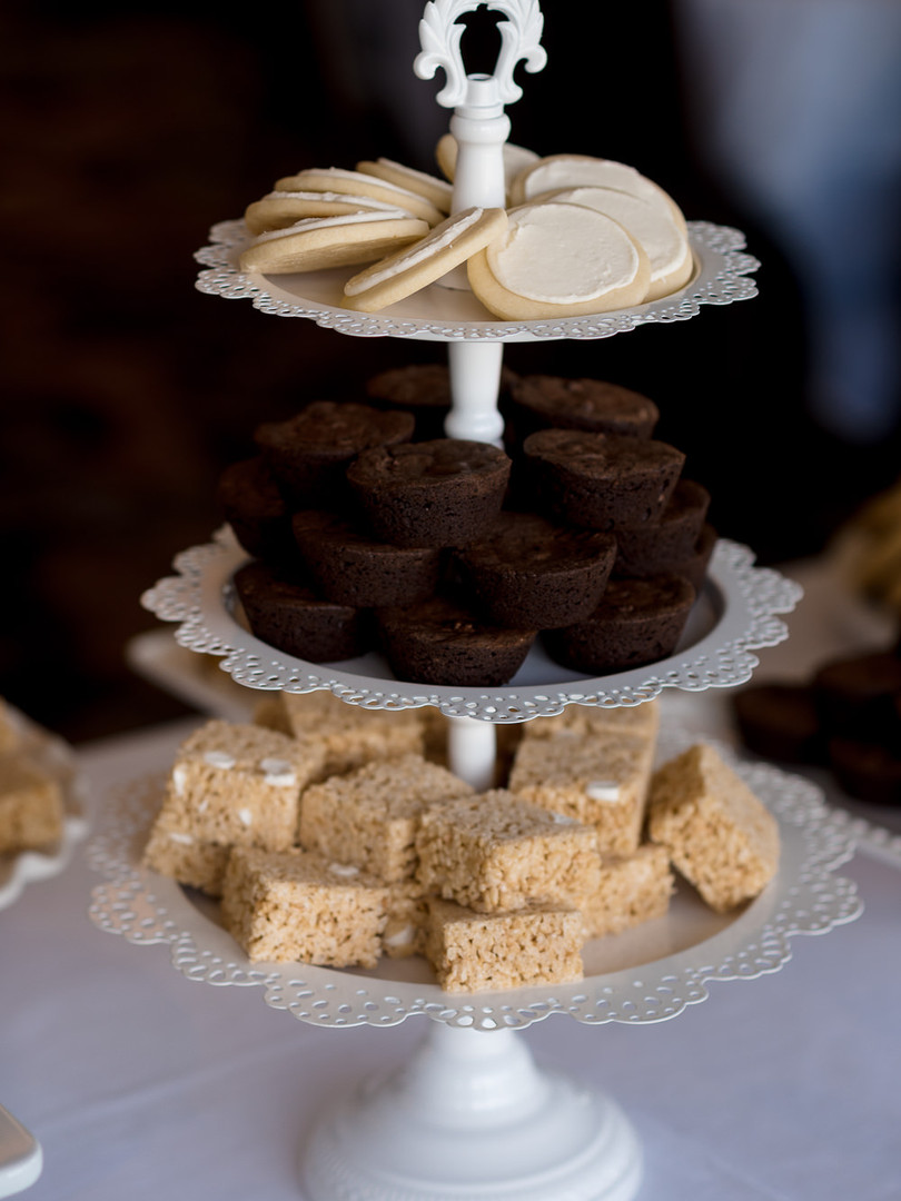Dessert Bar Wedding Tower!