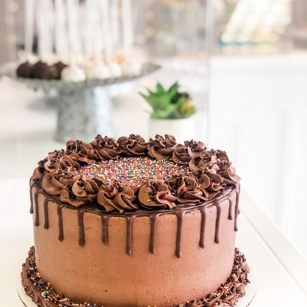 Chocolate Sprinkle Cake